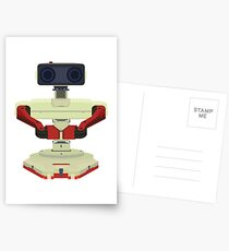 Robot R.O.B. Vector Postcards