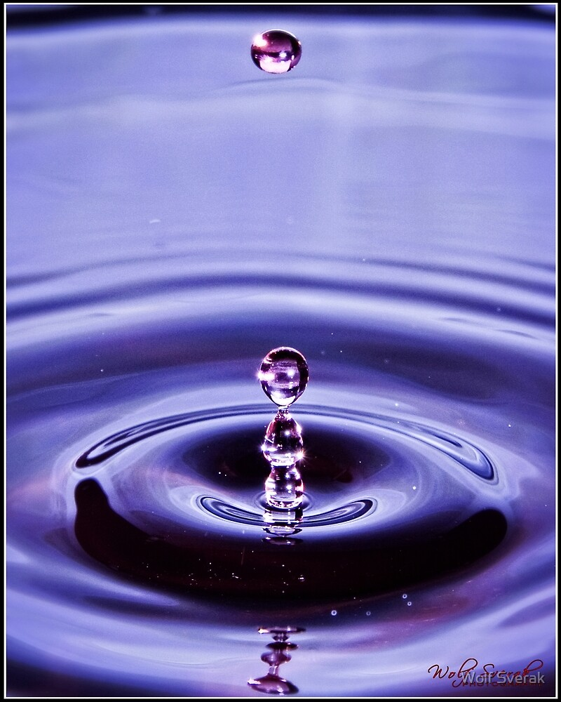 Water drops - revisited by Wolf Sverak