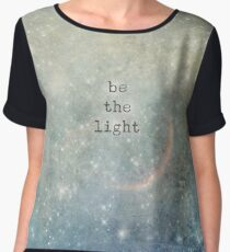be the light Chiffon Top