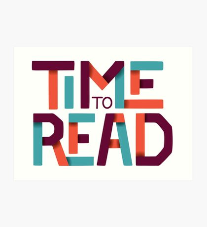 Time to Read Art Print