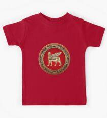 Winged Bull Lamassu [Gold] Kids Clothes