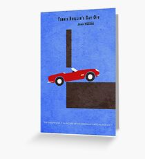 Ferris Bueller's Day Off Greeting Card