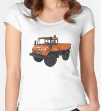 UNIMOG Women's Fitted Scoop T-Shirt