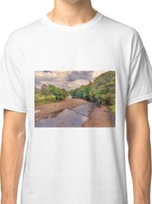 River Swale in Autumn Classic T-Shirt