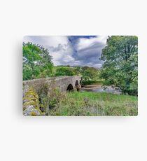 Swaledale Packhorse Bridge Canvas Print