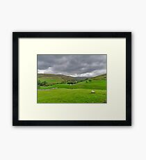 Yorkshire Dales View Framed Print