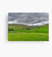 Yorkshire Dales View Canvas Print