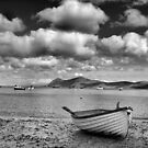 Boat North Wales Coast by graceloves