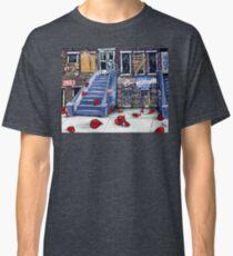 Broken Hearts Blvd. Homeless Family Vets Elderly Housing Home Veterans Social Issues Help City Inner Children Child Poor  Classic T-Shirt