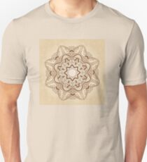 Ornamental round pattern Unisex T-Shirt