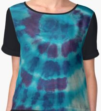 Tie Dye 3 Women's Chiffon Top