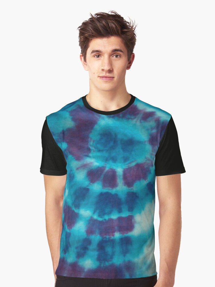 Tie Dye 3 Graphic T-Shirt Front