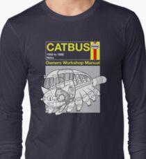 Catbus Manual Long Sleeve T-Shirt