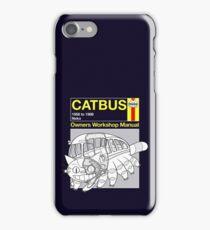 Catbus Manual iPhone Case/Skin