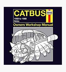 Catbus Manual Photographic Print