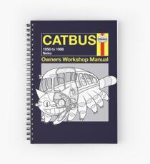 Cuaderno de espiral Catbus Manual