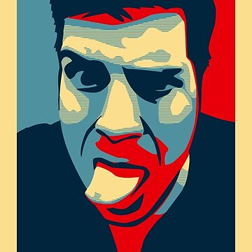 Thomas Profile Picture - Shepard Fairey Obama Hope Style by reujken