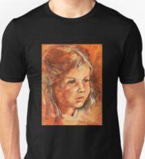 Portrait of a little Girl T-Shirt