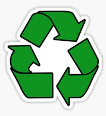Recycle Sign Gifts & Products Sticker