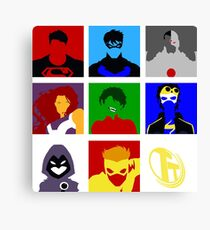Titans GO!! Canvas Print