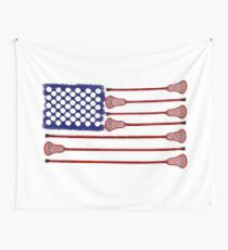 Lacrosse AmericasGame Wall Tapestry