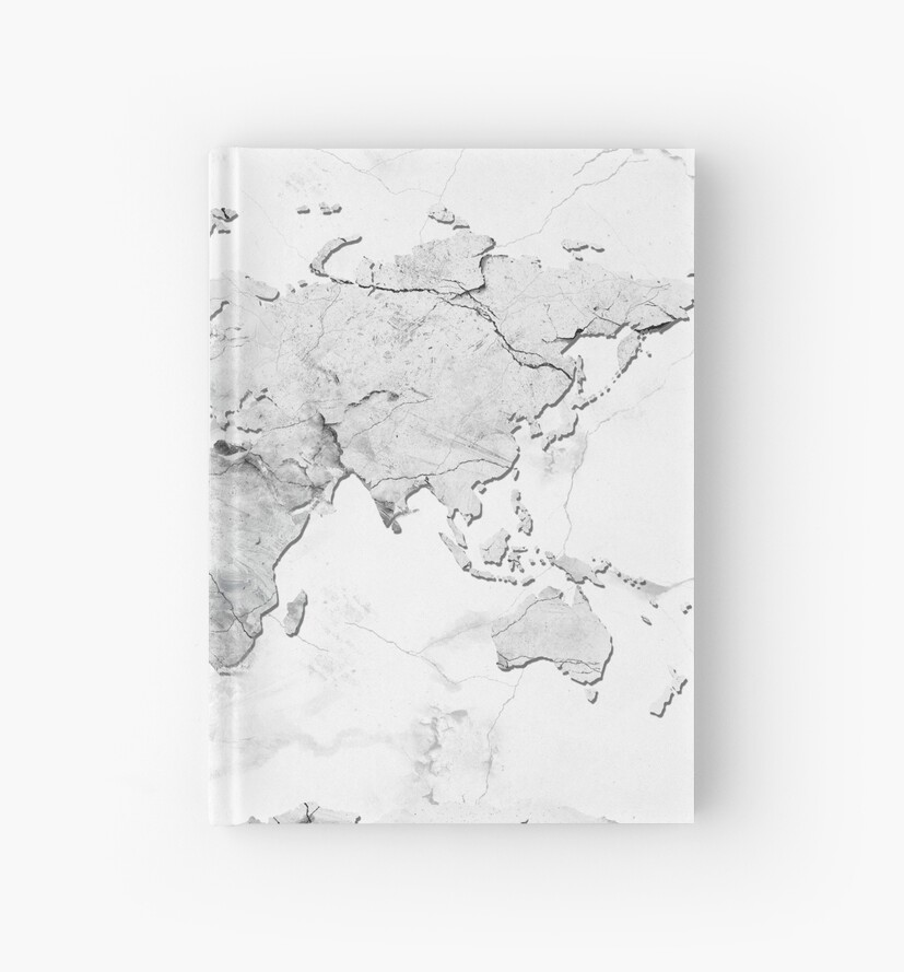 world map marble 3 by BekimART