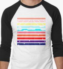 Sunrise to Sunset Sky Men's Baseball ¾ T-Shirt