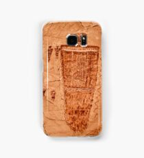 Horseshoe Canyon Great Gallery Figure 7 Pictographs Samsung Galaxy Case/Skin