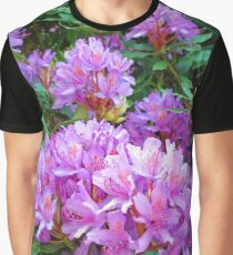 Pink Rhododendron Graphic T-Shirt