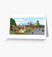 The Playground Greeting Card