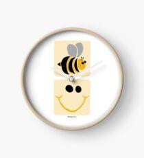 Bee Happy Clock