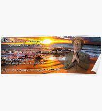 A prayer by Dennis Dooley Poster