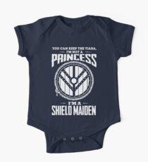 Don't call me a princess - I'm shieldmaiden Kids Clothes