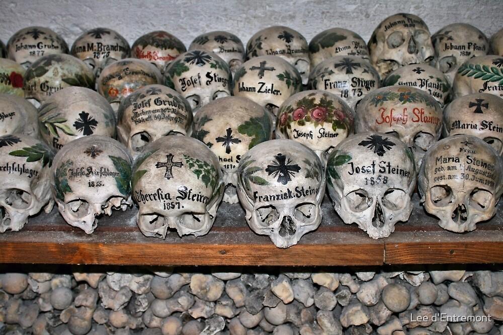 Beinhaus   Bone House Hallstatt, Austria By Lee Du0027Entremont