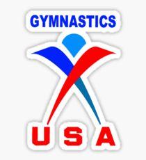 Team USA - Gymnastics Team Sticker