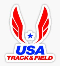 Team USA Track and Field Sticker