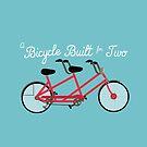 Ein Fahrrad für zwei Personen von dodadue89