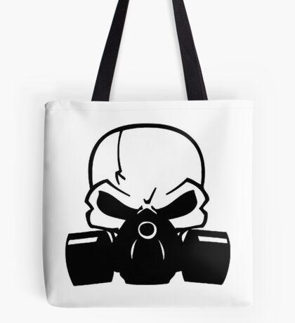 Skull Gasmask Tote Bag