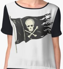 Pirate Flag for your Pirating Needs. Women's Chiffon Top