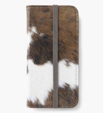 Cowhide iPhone Wallet/Case/Skin