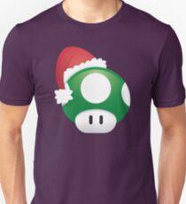 Super Mario 1Up Christmas Mushroom T-Shirt