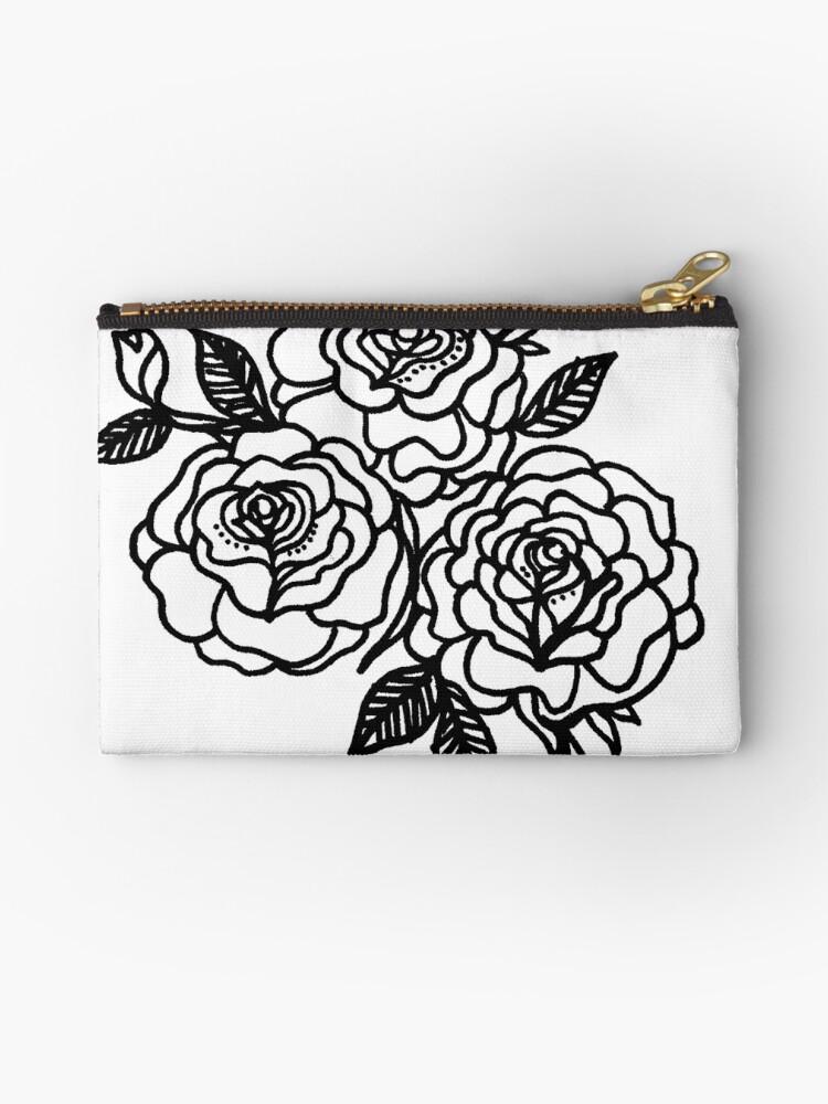 Triplet of Roses by Rose Sherman