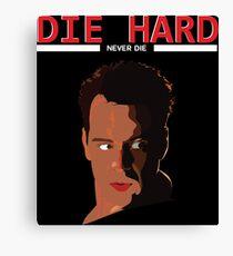 Die Hard - Never Dies! Canvas Print