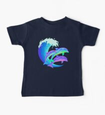 Psychedelic Dolphins Kids Clothes