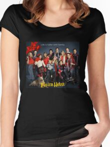 Fuller House Season 2 netflix Women's Fitted Scoop T-Shirt
