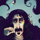 Frank Zappa by womoomow