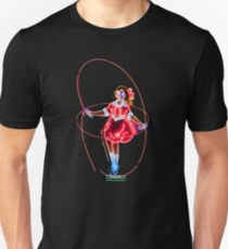 Skipping Girl Neon Clothing Unisex T-Shirt