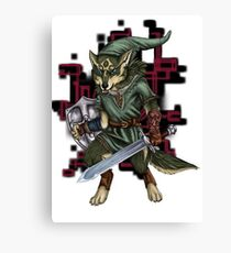 Link Wolf Canvas Print