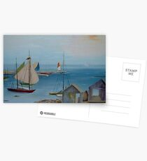 Sails in the Distance  Postcards