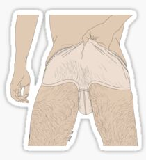 Wet Briefs Sticker